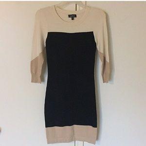 Bebe Block Dress